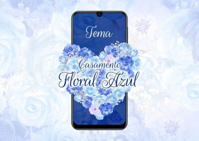 Casamento Floral Azul
