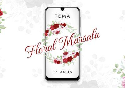 Floral Marsala
